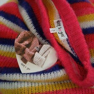 Deep Sugar Sweaters - Women's Deep Sugar Soft Crewneck Sweater Striped
